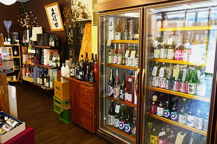 堀之内酒店 売り場-日本酒