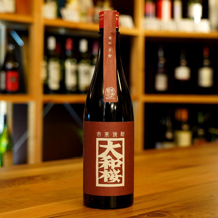大和桜 紅芋 25度 720ml 大和桜酒造