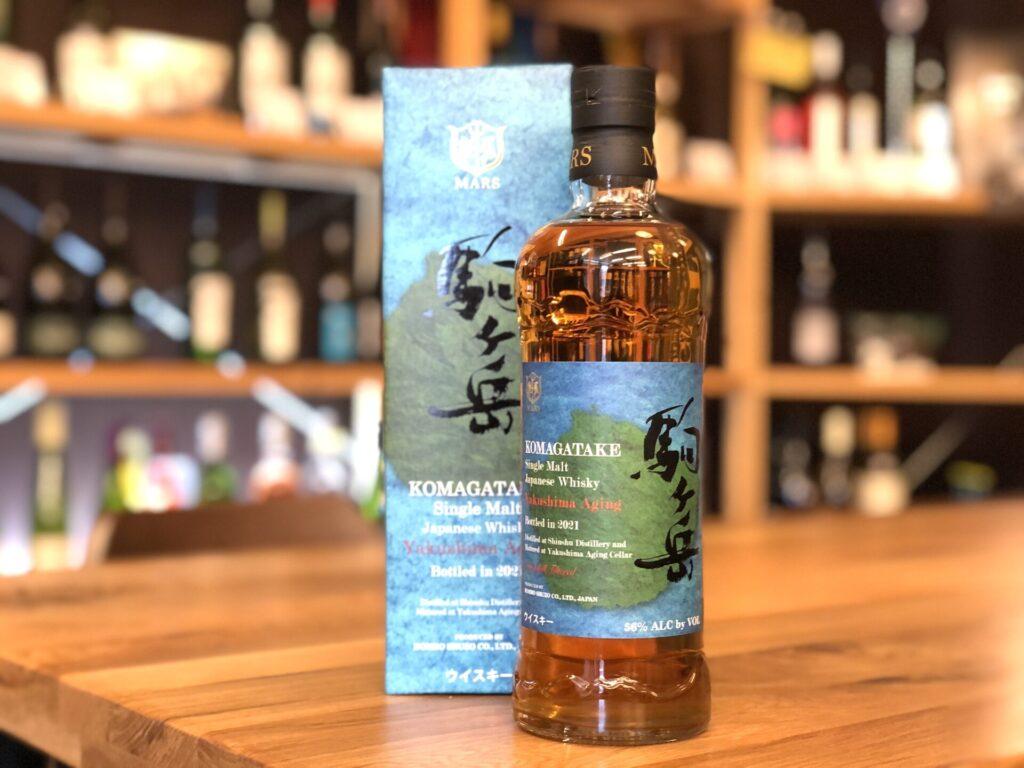 シングルモルト駒ヶ岳 屋久島エージング Bottled in 2021 56度 700ml マルス信州蒸溜所