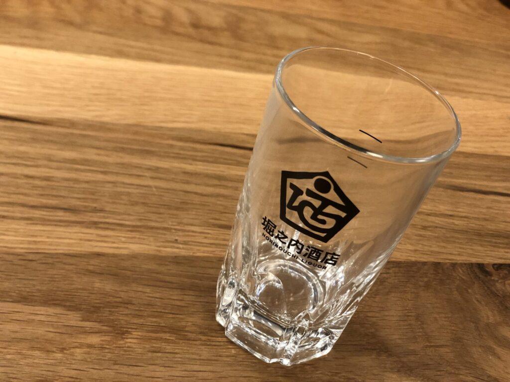 堀之内酒店オリジナルお湯割りグラス 180ml