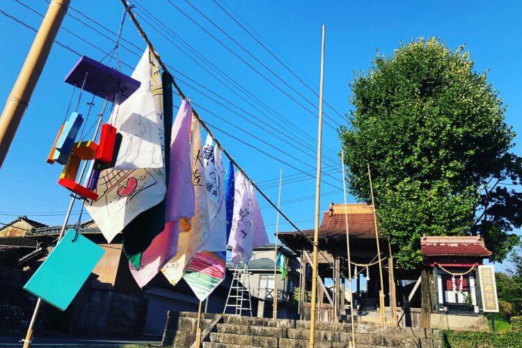 虹色の道〜雨のち晴れ 希望の虹をかける。八坂神社の方々の協力でスタート!